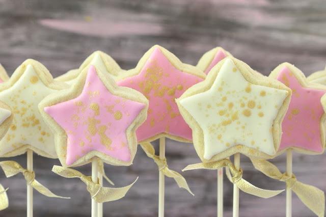 Princess Wand Cookie Pops