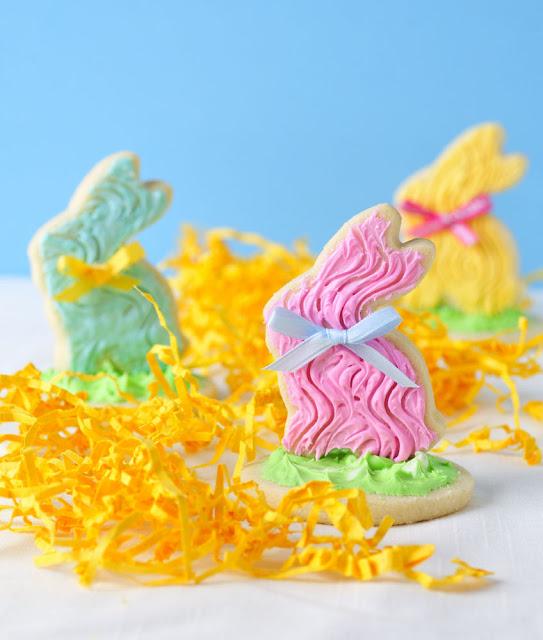 Fork Bunny Cookies