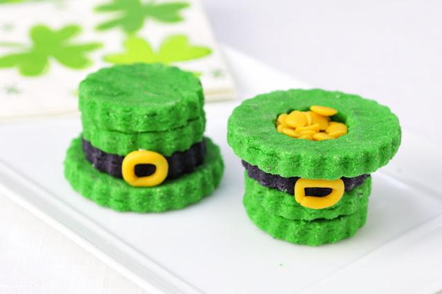 3D Saint Patrick's Hat Cookies
