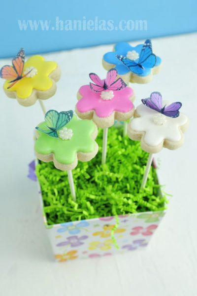Flower Cookie Bouquet arrangement