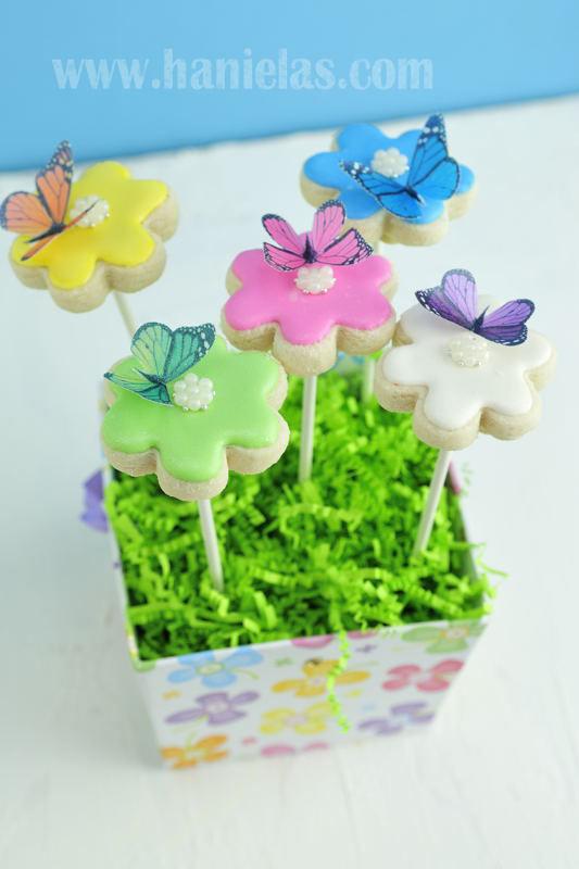 Flower Cookie Bouquet arrangement
