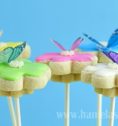 Butterfly Flower Cookie Bouquet