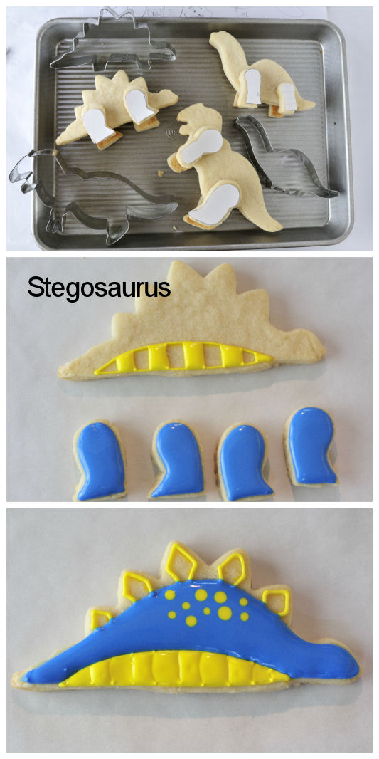 3d Dinosaur Cookies Haniela S Recipes Cookie Amp Cake