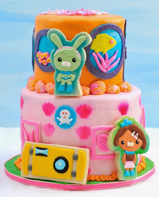 Octonauts: Dashi and Tweak Cake