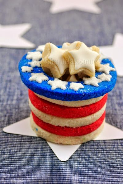 3D Patriotic Cookie Hat