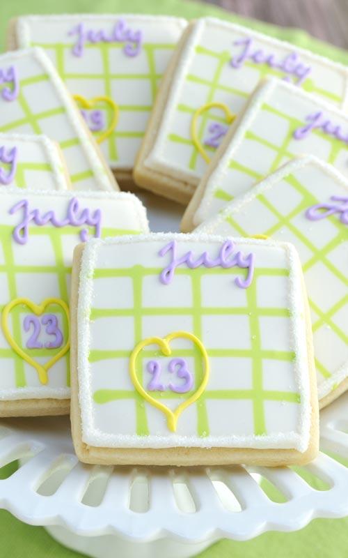 Calendar Cookies