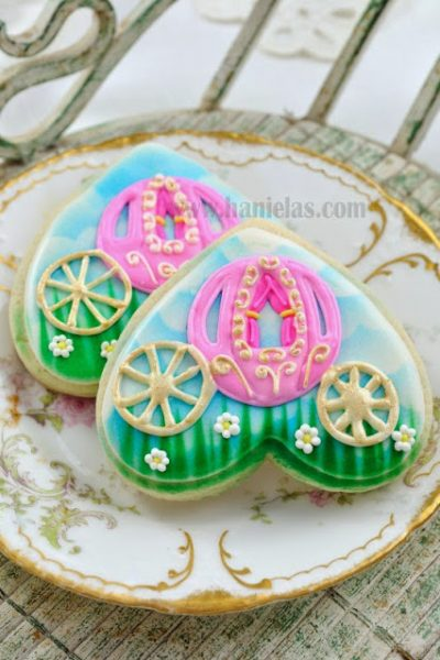 Princess Carriage Cookies