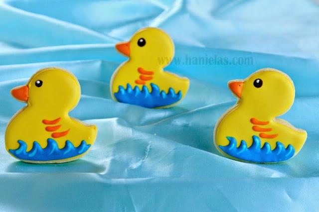 Simple Duck Cookies