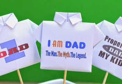 Father's Day Origami T-Shirt Video Tutorial