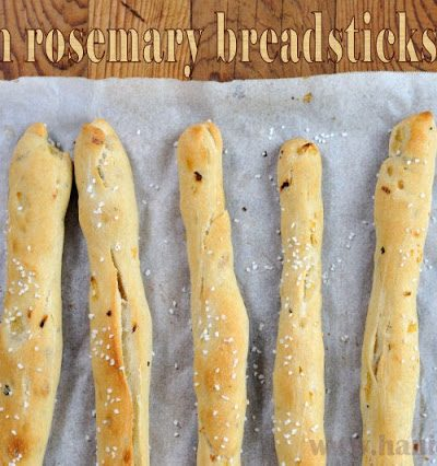 Onion Rosemary Breadsticks