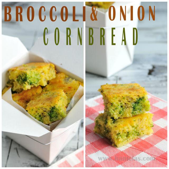 Broccoli & Onion Cornbread