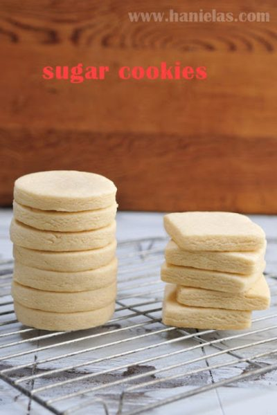 Sugar Cookie Recipe for Cut Out Cookies