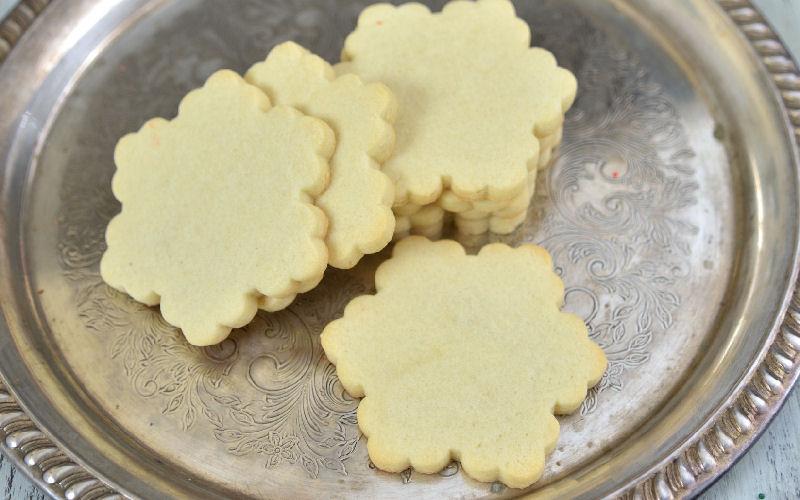 sugar cookies, snowflake, christmas