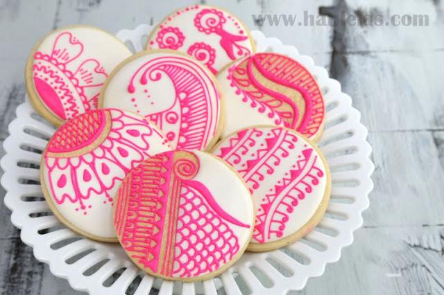 Henna Cookies, Pattern Templates