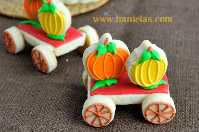 Pumpkin Wagon Cookies