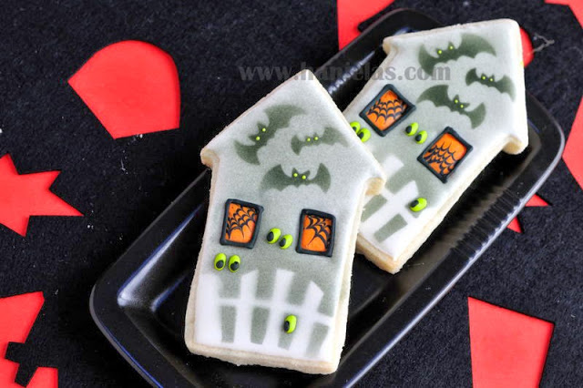 Haunted House Cookies For Halloween