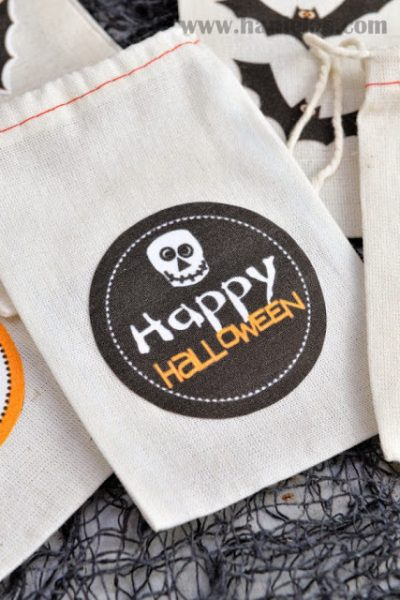 Halloween Treat Bags Tutorial