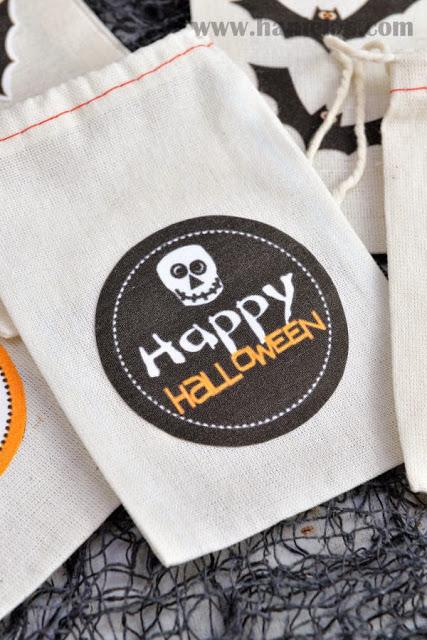 Halloween Treat Bags Tutorial