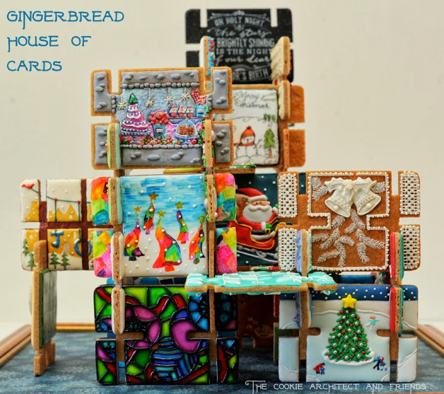 Gingerbread House of Cards Collaboration