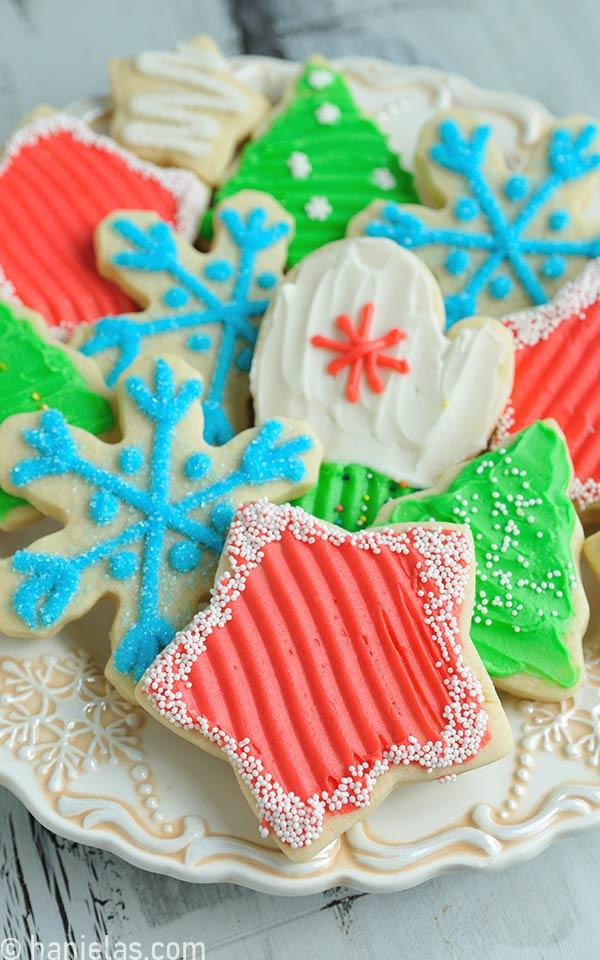 Christmas Buttercream Cookies
