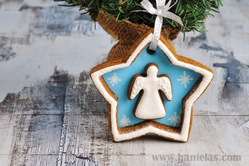 Angel Cookie Decorations Gingerbread Blog Hop And Givewaway