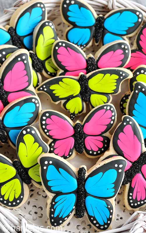 Simple Butterfly Cookies