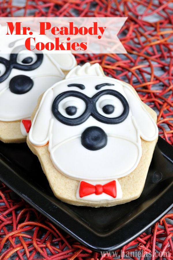 Mr. Peabody and Sherman Cookies