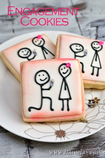 Engagement Proposal Cookies