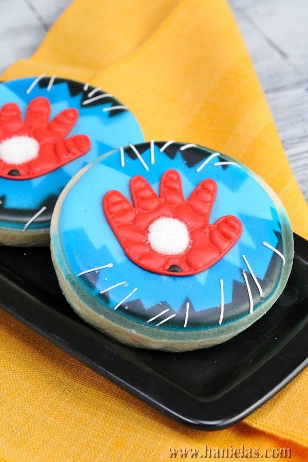 Iron Man Hand Cookies