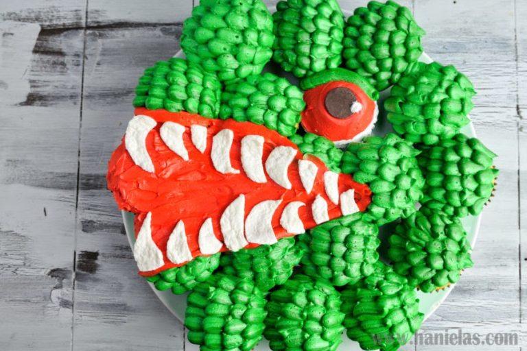 Godzilla Cupcake Cake