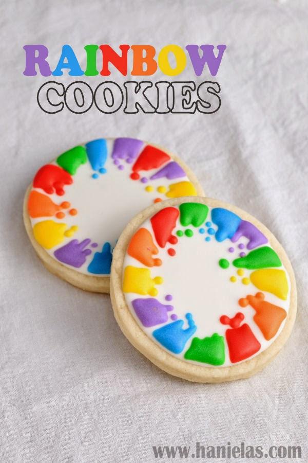 Pretty Rainbow Cookies