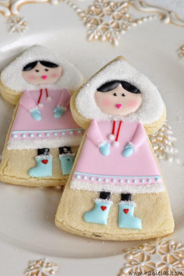 Eskimo Girl Cookies