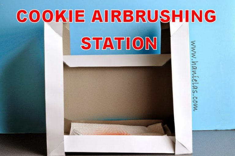 Cookie and Cupcake Airbrushing Station