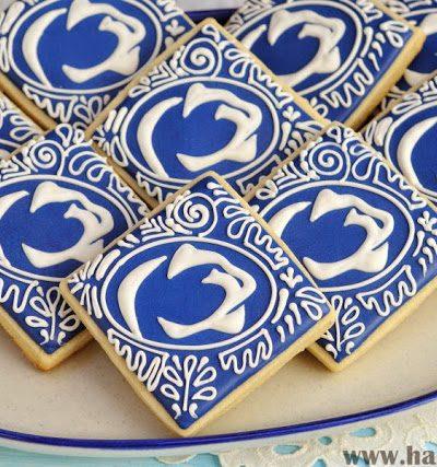 Penn State Graduation Cookies