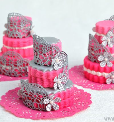 SugarVeil® Lace Wedding Cookies