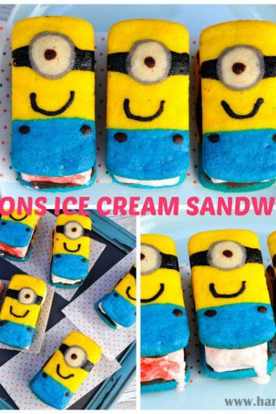 Minions Ice Cream Sandwiches