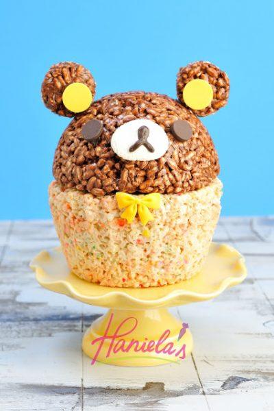 Rilakkuma Rice Krispies Cake