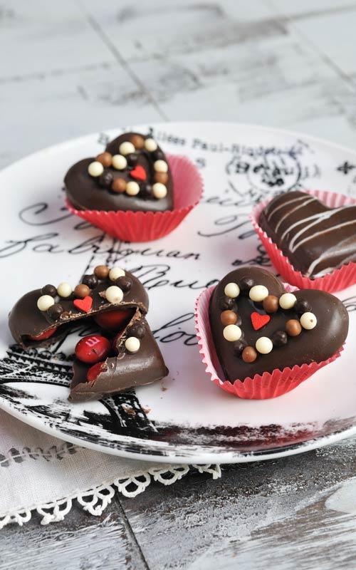 3d chocolate heart