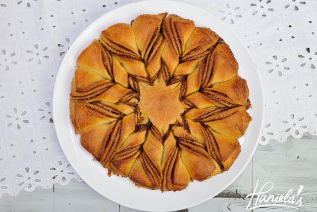 Braided Cinnamon Star Bread