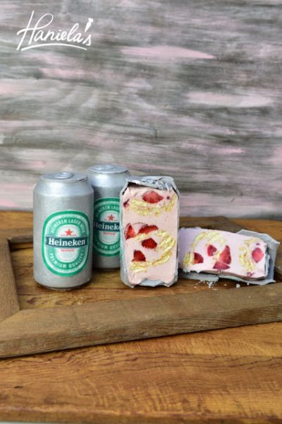Father's Day Heineken Beer Can Cakes