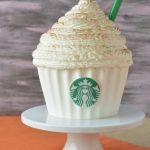 Starbucks Pumpkin Spice Latte Cupcake Cake