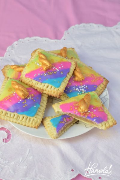 Unicorn Apple Pie Pop Tarts