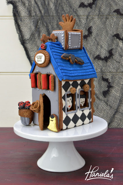 The Addams Family Gingerbread House