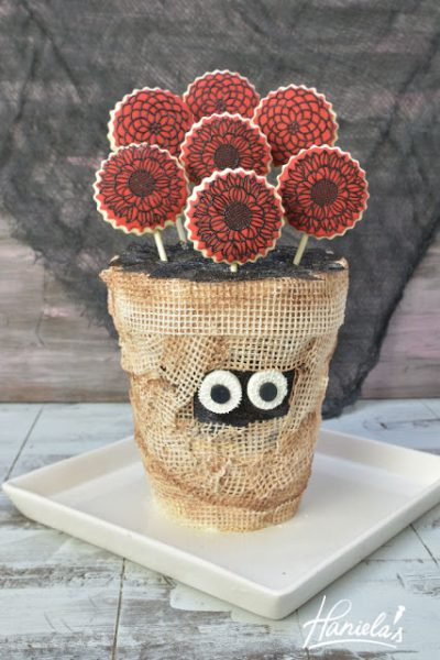 Mummy Flower Vase Cake with SugarVeil®