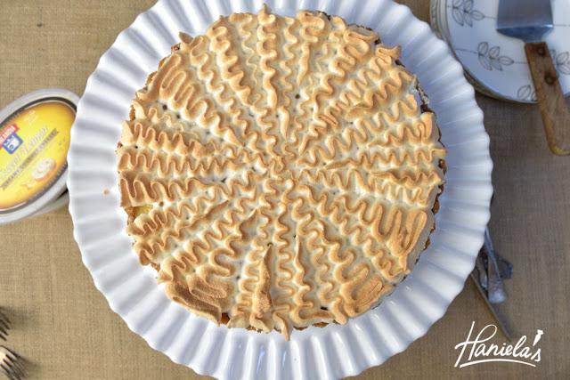 Lemon Meringue Cheesecake Tart with Finlandia™ Creamy Gourmet Cheese