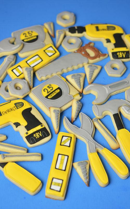 Handyman Tool Cookies