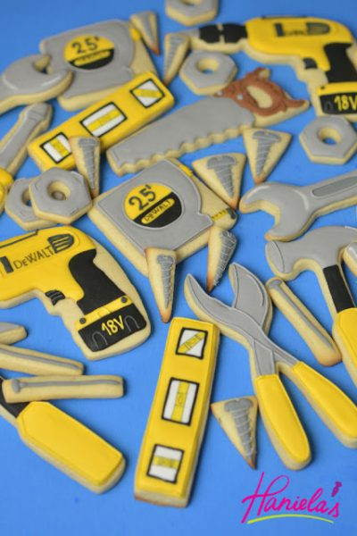 Father's Day Handyman Tool Cookies