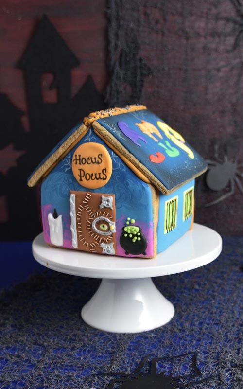 Hocus Pocus Gingerbread House