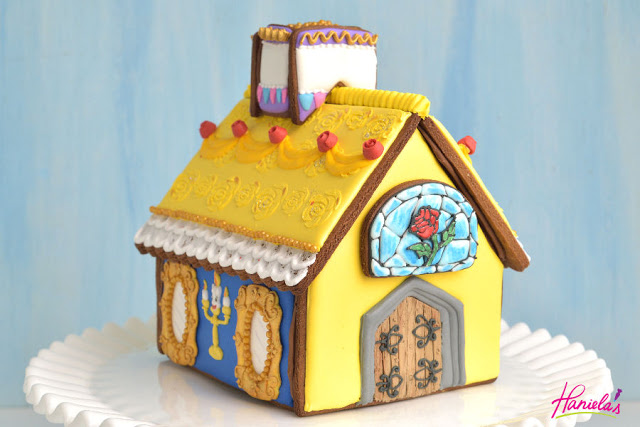 Disney Beauty and The Beast Gingerbread House