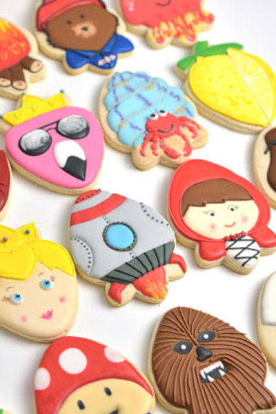 30 Cookie Design Ideas with 1 Cookie Cutter